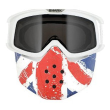 Shark RAW ajolasit + maski, Union Jack