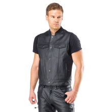 Sweep Gunner leather vest