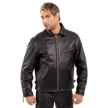 Sweep Diesel leather jacket