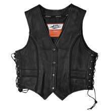 Sweep Mia, ladies leather vest