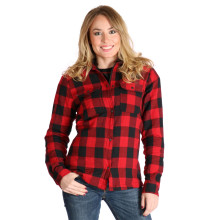Sweep Manitou ladies MC flannel shirt