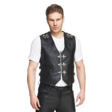Sweep El Paso leather vest