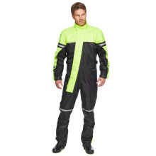 Sweep Typhoon 3 rain suit, black/yellow