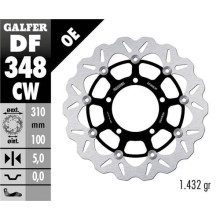 Galfer Wave Brake disc, SUZUKI M 109/M 1800/VZR 1800 Intruder, front