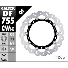 Galfer Wave Brake disc, BMWS 1000 R/RR/XR , front right
