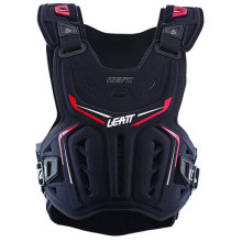 Leatt Chest Protector 3DF Airfit, black/red, XXL