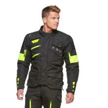 Sweep GPX 4-season jacket, black/yellow