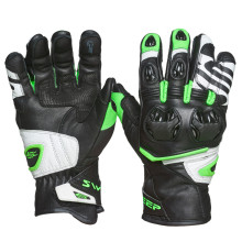 Sweep Forza gloves, black/white/green