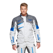 Sweep GPX 4-season jacket, ivory/blue