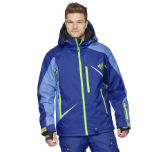 Sweep Scout snowmobile touring jacket, blue/blue