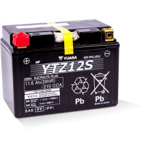 Yuasa High Performance MF VRLA Battery YTZ12S (WC) 12V