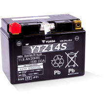 Yuasa High Performance MF VRLA Battery YTZ14S (WC) 12V