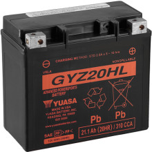 Yuasa High Performance MF VRLA Battery GYZ20HL (WC) 12V
