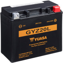 Yuasa High Performance MF VRLA Battery GYZ20L (WC) 12V
