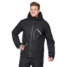 Sweep Scout snowmobile touring jacket, black