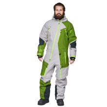 Sweep Amur snow overall, grey/green