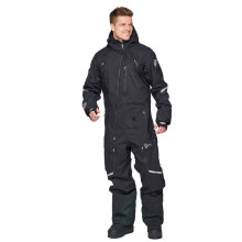 Sweep Amur snow overall, black
