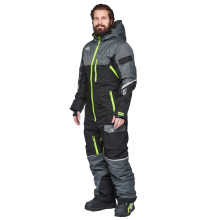 Sweep Snowcore CX snow overall, insulated, black/grey