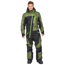 Sweep RXT snow overall, black/army green