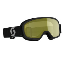 Scott Goggle Buzz Pro Snow Cross black/grey yellow
