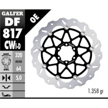 Galfer Wave Brake disc, BMW S 1000 RR ABS 19-, front right