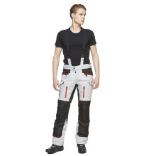 Sweep GPX 4-season mc pant, ivory/red