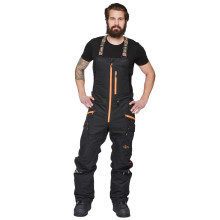 Sweep Scout snowmobile touring pant, black/orange
