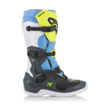 Alpinestars Tech 3, Fl yellow/white/blue