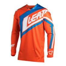 Leatt Jersey GPX 4.5 Lite, orange/denim