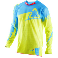 Leatt Jersey GPX 4.5 X-Flow, Lime/Blue