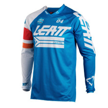 Leatt Jersey GPX 4.5 X-Flow, blue/white