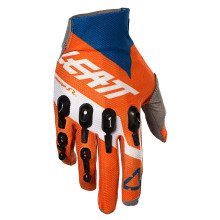 Leatt Glove GPX 4.5 Lite, orange/denim