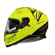 MT Thunder 3 SV Board A0, gloss fluo. yellow
