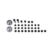 Leatt Screw kit GPX 5.5 FlexLock, all screws for 1 pair