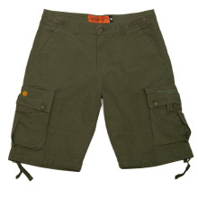 WCC - Caine Ripstop Cargo Shorts Olive Green