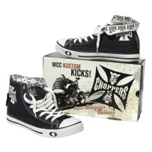 WCC - Warrior High Tops Shoes Black