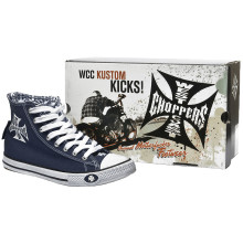 WCC - Warrior High Tops Shoes Navy Blue
